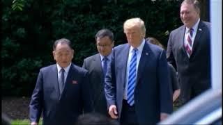Presidente Trump confirma cumbre con Corea del Norte en junio