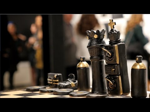 The World Chess Hall of Fame Revisits the Imagery of Chess with Local Artists (HEC-TV Scope)