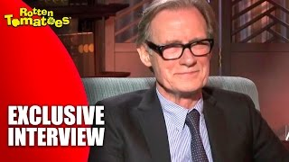 Bill Nighy Likes His Suits & Movies - Exclusive