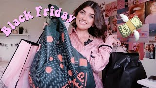 Try-On Black Friday Haul~ brandy melville, urban outfitters, victoria's secret