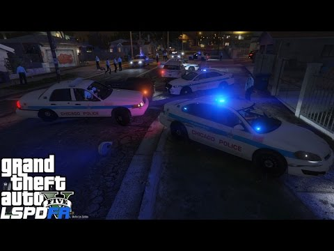 GTA 5 LSPDFR Police Mod 282 | Chicago Police Department | All Hell Breaks Loose On Grove Street