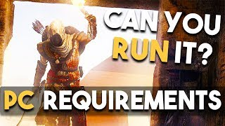 Assassin's Creed Origins PC System Requirements - Can You RUN IT?