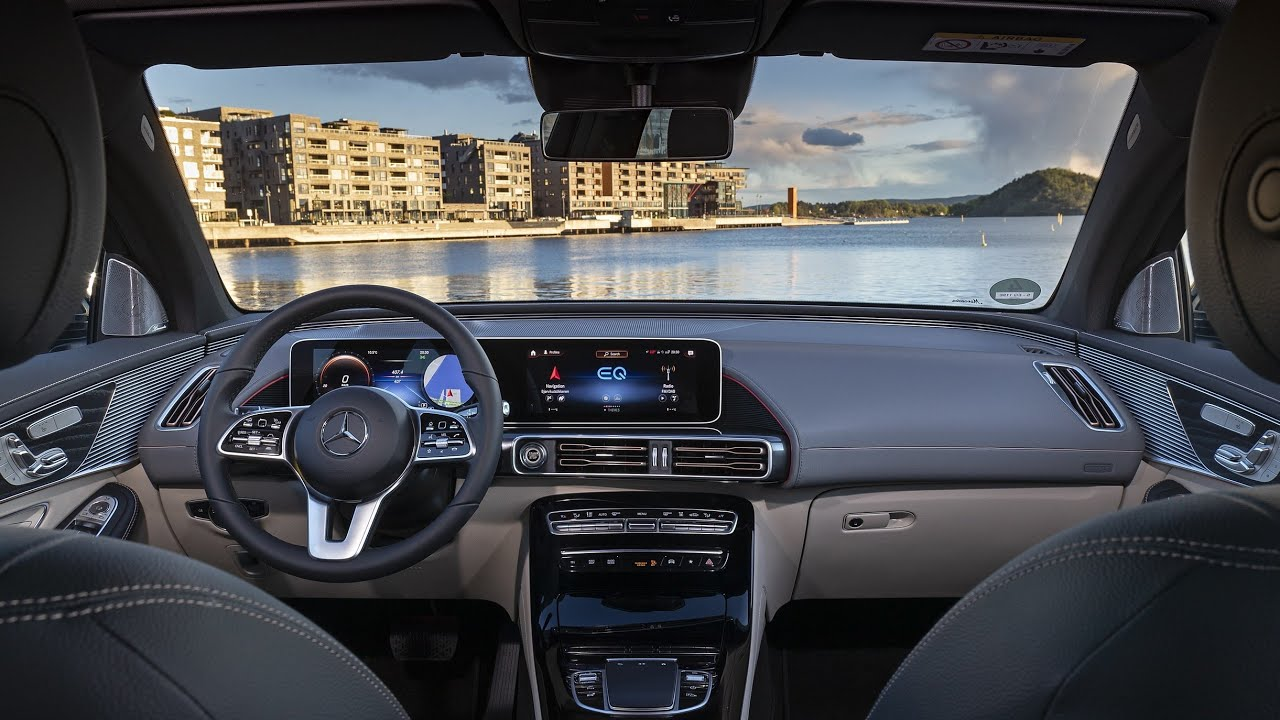 2021 Mercedes-Benz EQC 400 4MATIC Electric SUV - INTERIOR ...