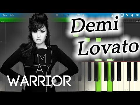 Demi Lovato - Warrior [Piano Tutorial] Synthesia