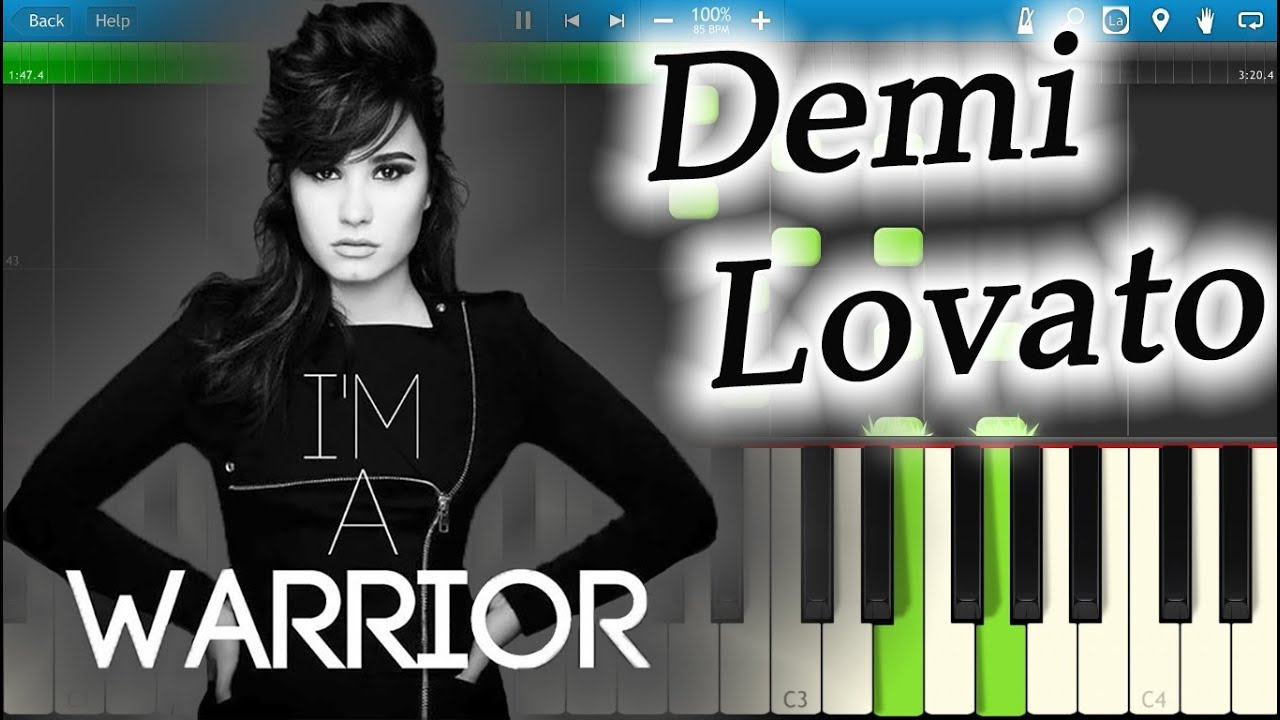 Demi lovato warrior piano tutorial synthesia youtube demi lovato warrior piano tutorial synthesia hexwebz Images