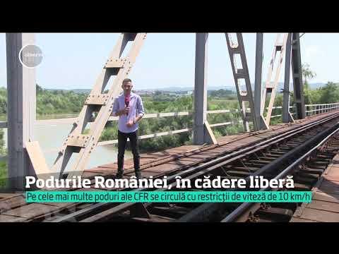 În România, jumătate dintre podurile CFR au nevoie urgență de reparații