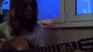 "Песня ""Секс и рок-н-ролл"" на гитаре"