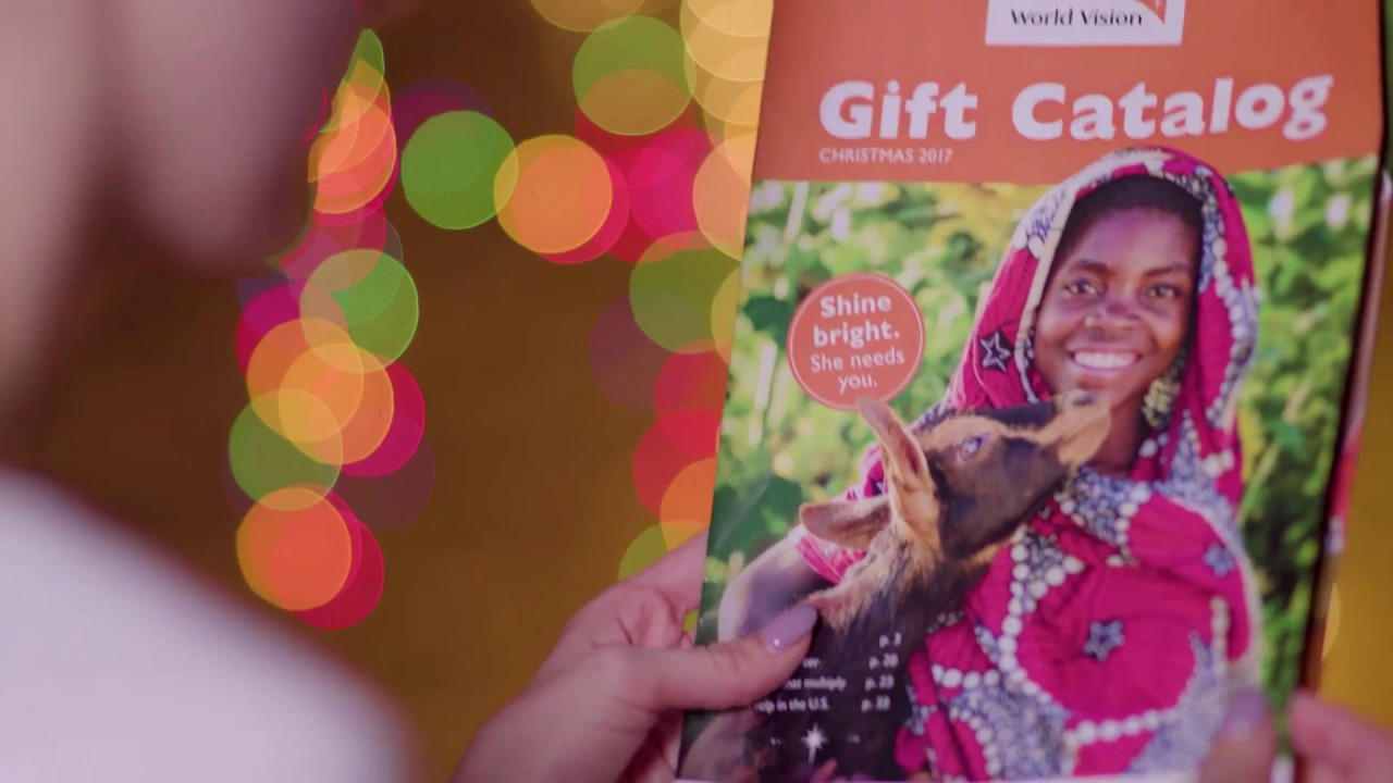 Watch Our Gift Catalog Come to Life! | #ShineBright | World Vision ...