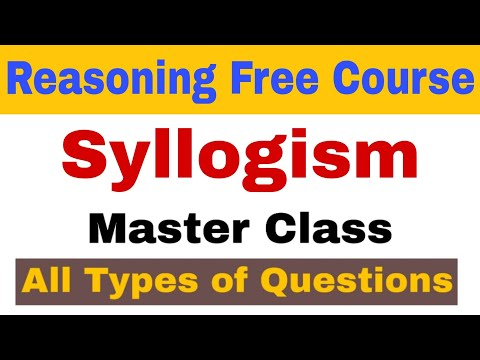 Syllogism all types of questions | Tricks | Reasoning free course part 3 | Syllogism for Bank & SSC