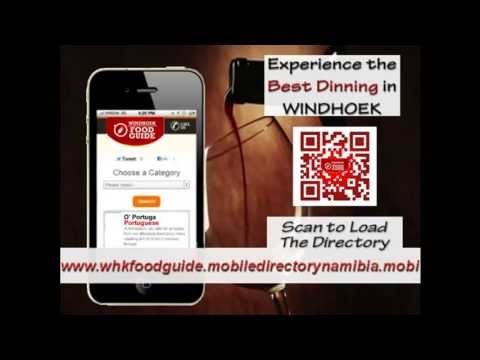 Mobile Directory Namibia - Windhoek Food Guide