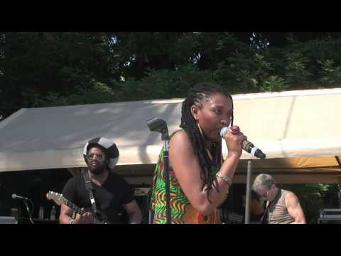 Nkulee Dube with the Tosh Meets Marley Band 'Prisoner' Reggae on the River July 21, 2012