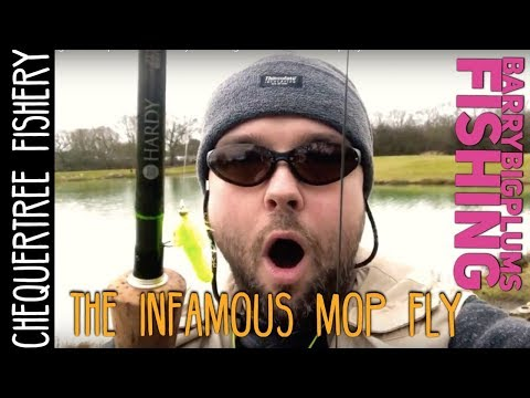 Fly Fishing At Chequertree Fishery - Testing The Infamous Mop Fly