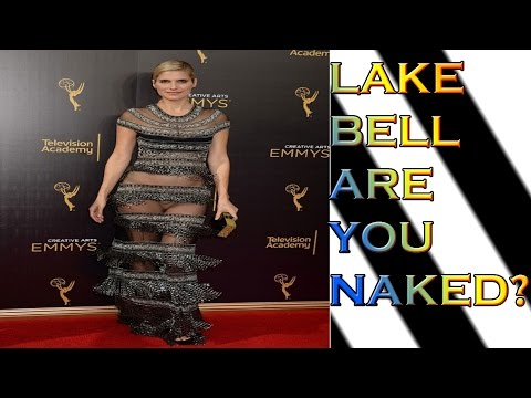 Lake Bell Suffers A Red Carpet Wardrobe Malfunction