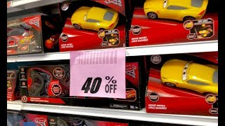 Toy Hunting Toys R Us Store Closing Sale, 2nd Visit - Disney Cars, Mega Construx, Thomas & Friends