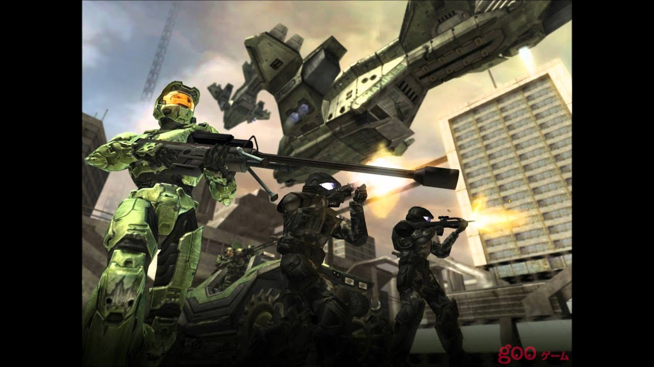 Halo 2 theme song + some nice pictures