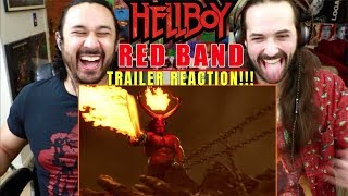 HELLBOY (2019) RED BAND TRAILER - REACTION!!!