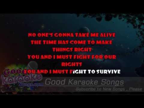 Knights Of Cydonia -  Muse (Lyrics Karaoke) [ goodkaraokesongs.com ]