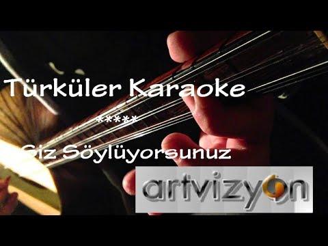 ÇÖKERTME - Zeybek / KARAOKE  Türkü / Sözleri  / Fon Müziği ( COVER )
