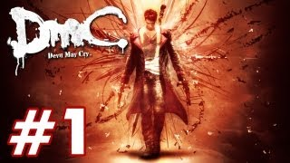 Devil May Cry - PART 1 Playthrough [PS3] TRUE-HD QUALITY