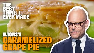 Alton Brown's Caramelized Grape Pie | Best Thing I Ever Made