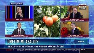 Gıda fiyatları neden düşmüyor? - Habertürk TV Genel Yayın Yönetmeni Selçuk Tepeli