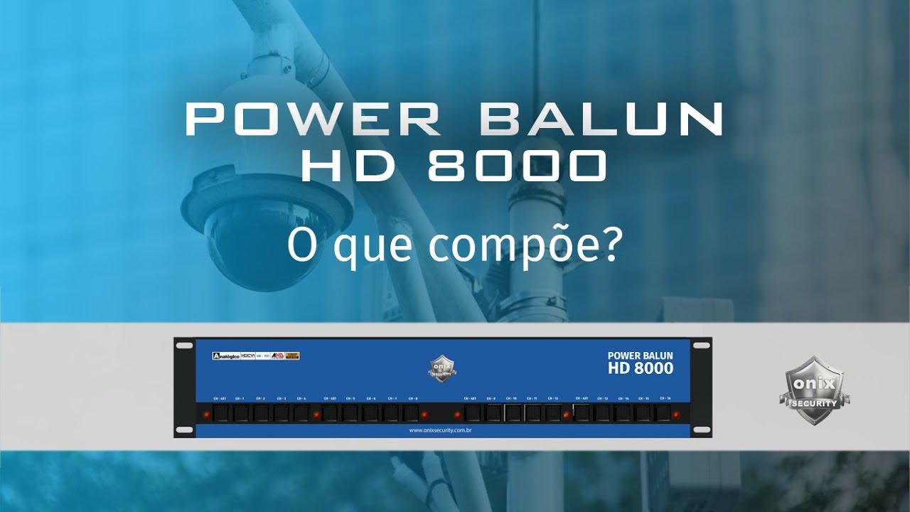 3913424b2 Rack Onix Hd 8000 16 Canais Vertical Balun Rj45 E Fonte 15a - R$ 725,00 em  Mercado Livre