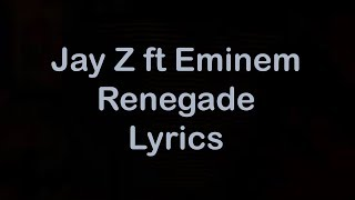 Video Jay Z ft Eminem - Renegade [Lyrics] download MP3, 3GP, MP4, WEBM, AVI, FLV Juni 2018
