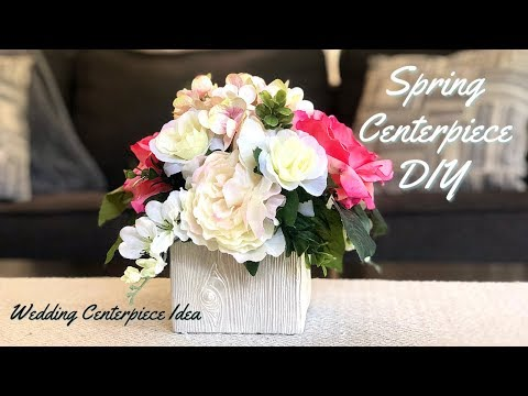 Spring Floral Arrangement | Wedding Centerpiece Idea