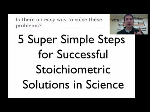 Stoichiometry 2: 5 Simple Steps Of Stoichiometry