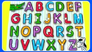 learn abc alphabet abc puzzle fun abc alphabet video for preschool kids toddlers babies