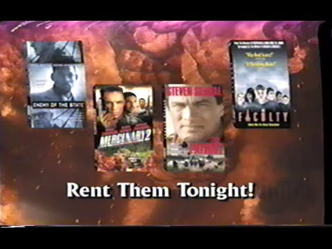 Enemy of the State (1998) - The Faculty (1998) - The Patriot (1998) – Mercenary II (1999) Promo