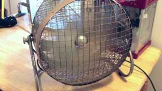 Modern-Aire Floor Fan