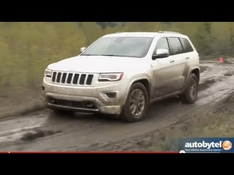2014 jeep grand cherokee overland off road test drive. Black Bedroom Furniture Sets. Home Design Ideas
