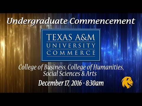 Undergraduate Ceremony - College of Business, College of Humanities, Social Sciences & Arts