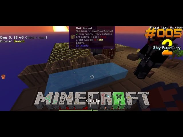 Let's Play Minecraft Sky-Factory 2 | Unendlich Wasser - Check | Folge #005