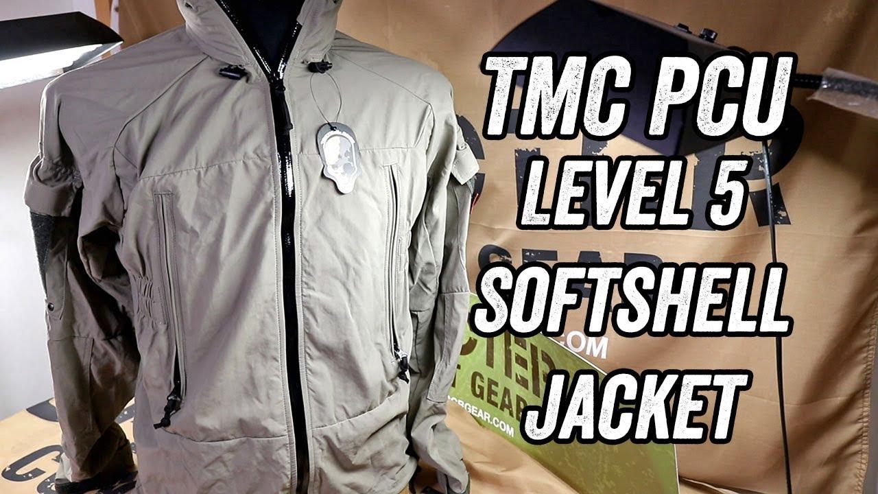 Size optional TMC PCU Level 5 Softshell Jacket TMC3229
