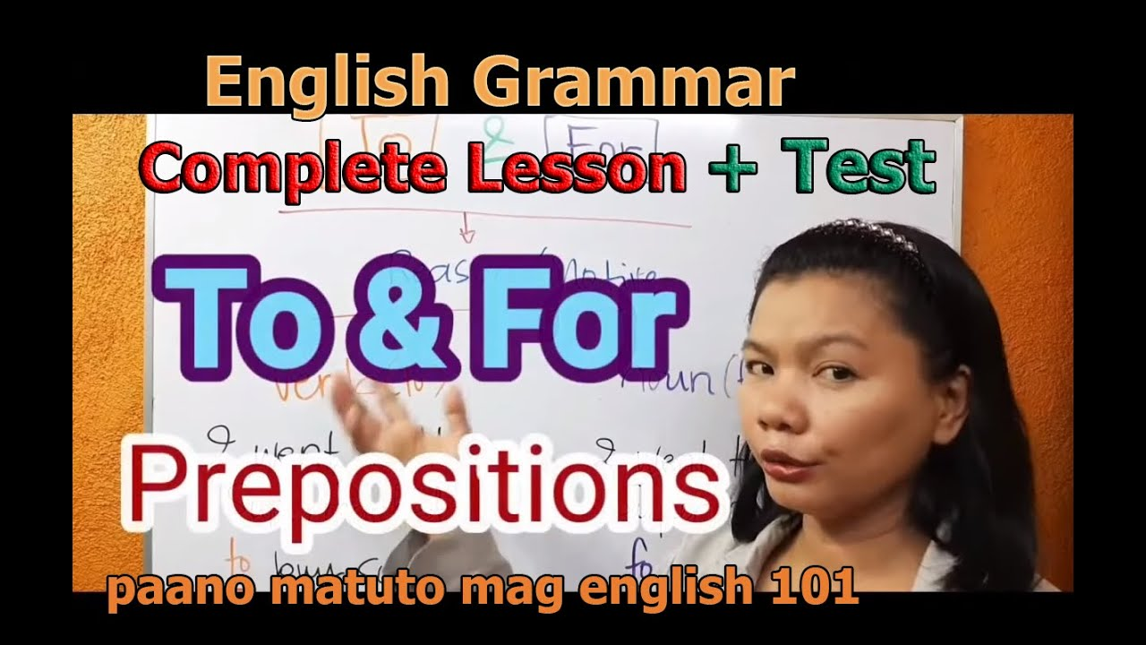 Paano Matuto Mag English Complete English Grammar Lessons for Beginners English Tagalog Translation