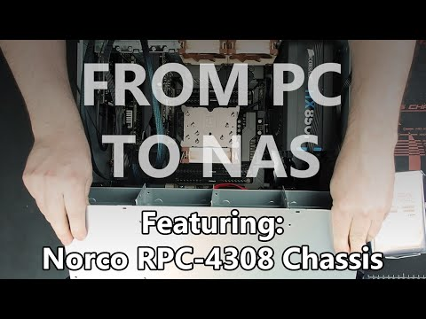 From PC to NAS - Part 1 - The Hardware Build
