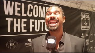 DAVID HAYE BREAKSDOWN CONOR McGREGOR CHANCES OF BEATING FLOYD MAYWEATHER AUGUST 26TH