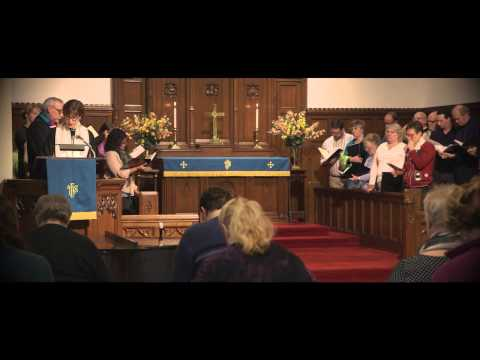 St. John United Church of Christ:  Sunday service with Marian McClure Taylor