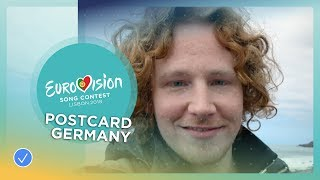 Postcard of Michael Schulte from Germany - Eurovision 2018