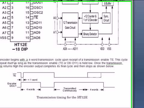 HT12D_12E, Encoder and Decoder IC.avi