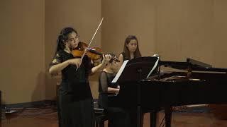 2 Senior Violin Recital by Boonthida Ainthakat, Sonata in G Major KV 301 I Allegro con spirit, II Al