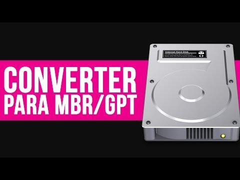 Como converter HD para MBR ou GPT | TUTORIAL