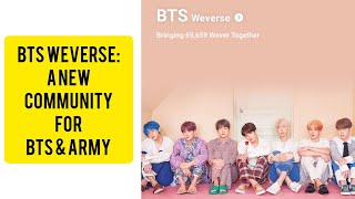 BTS ARMY WEVERSE HOW TO SIGN UP