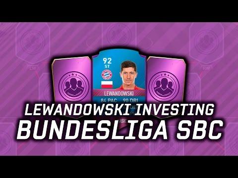 FIFA 17 - SBC LEWANDOWSKI INVESTING - SBCs - DRAFT