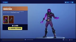 Fortnite-New Skins - TEMPESTUOSO et RADIUS