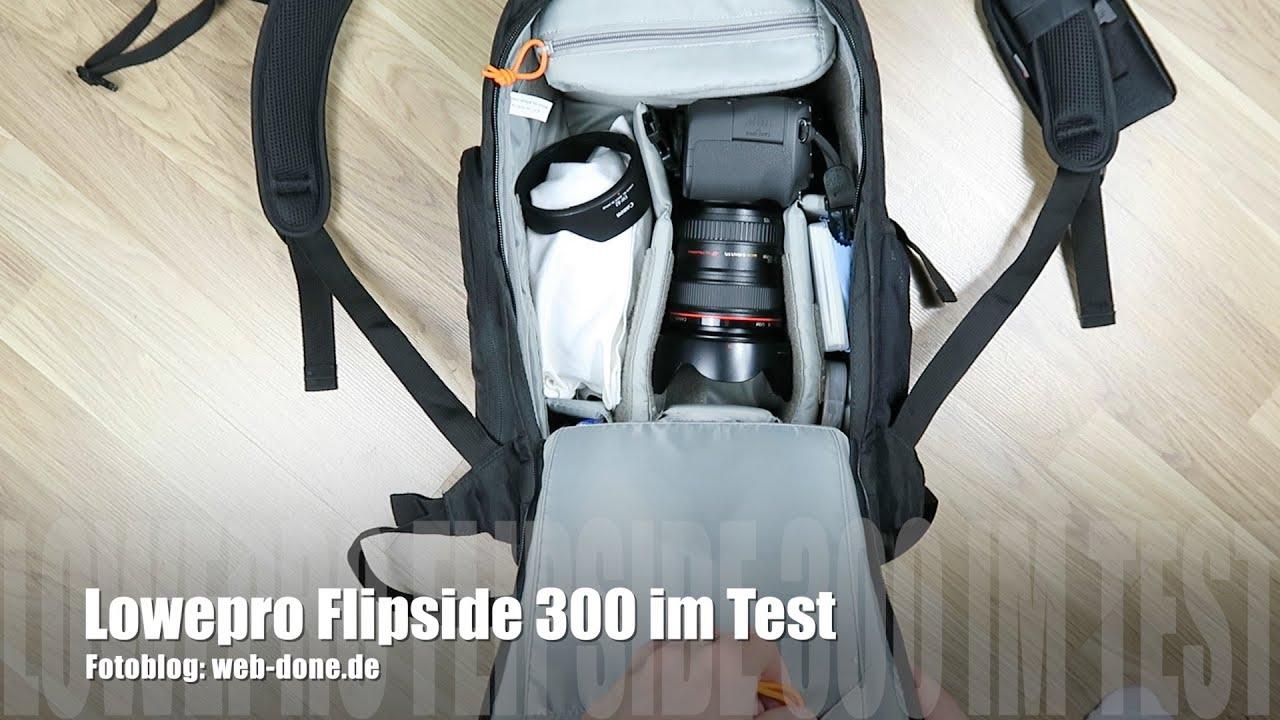 lowepro flipside 300 dslr kamerarucksack im test review. Black Bedroom Furniture Sets. Home Design Ideas