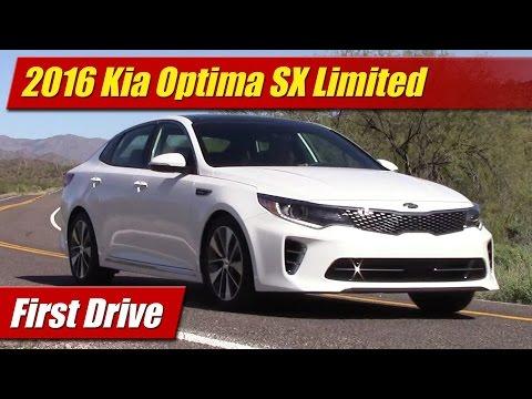 Kia Optima Sx Limited First Drive