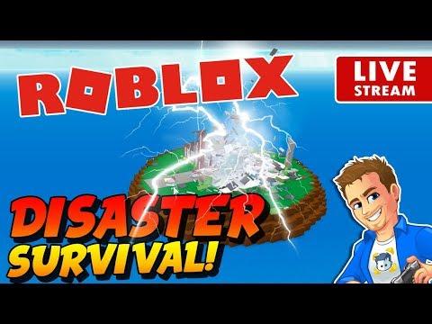 Roblox Natural Disaster Survival Live Roblox Mini Game
